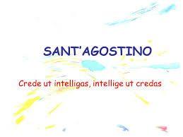 Crede ut intelligas o Intellige ut credas?